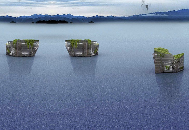 Floating Trash Islands
