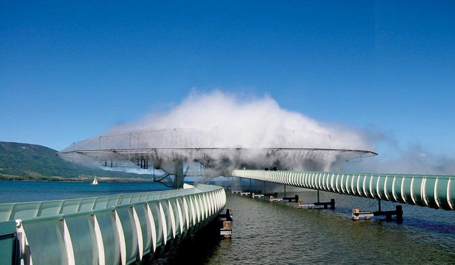 Fog Blur Building