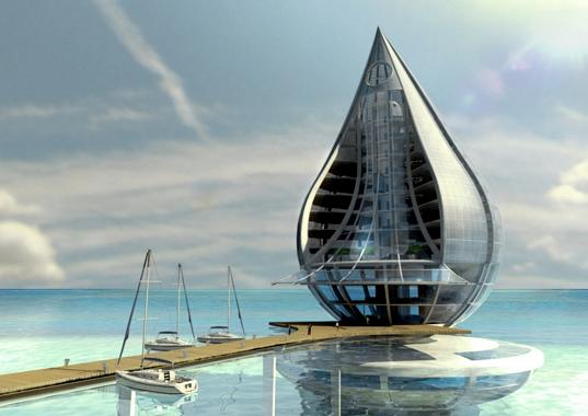 Conceptual Art of the Water Droplet Resort