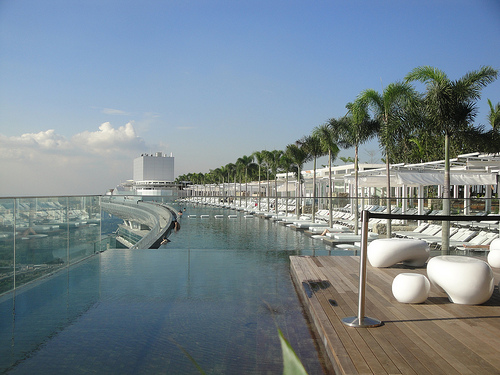 Marina Bay Sand Infinity Pool