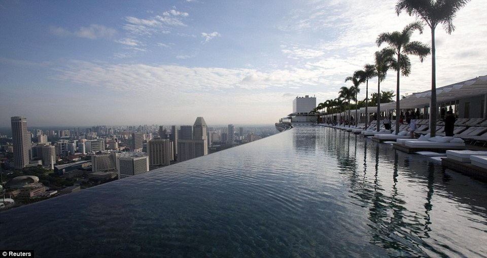 Infinity Edge Swimming Pool