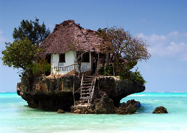 Rock Restaurant in Zanzibar