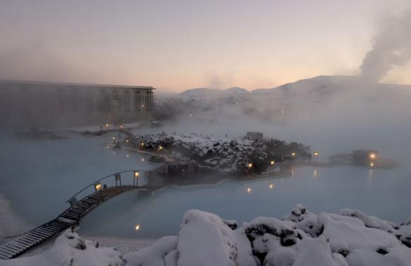Blue Lagoon Geothermal Pool in Iceland