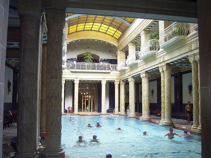 Gellert Baths Spa in Budapest