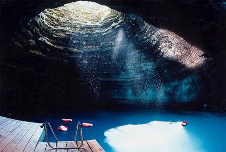 Underground Pool in Utah