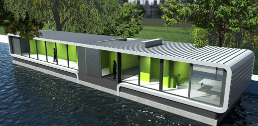 Floating Catering Building