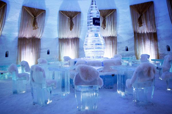 Ice Dining Room