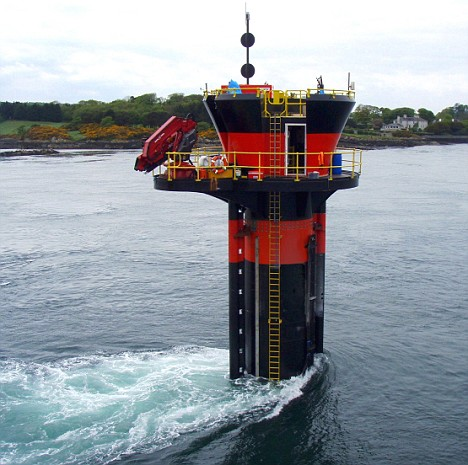 Functioning Tidal Power Plant