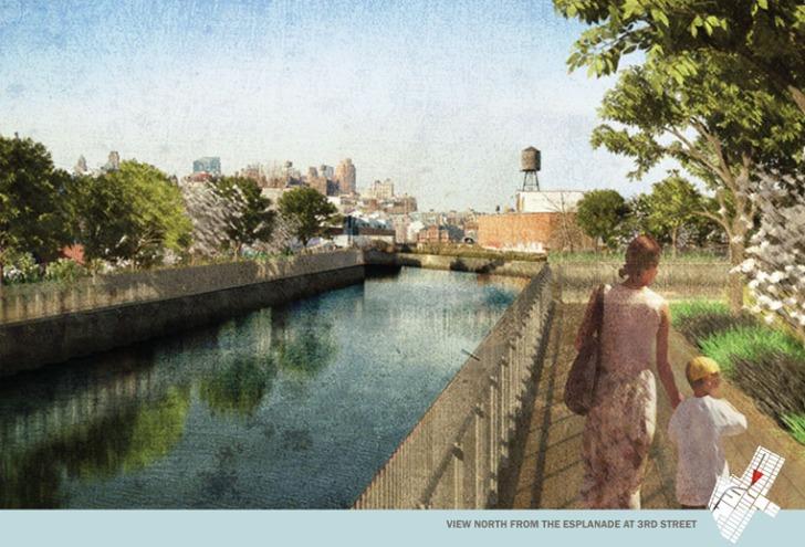 The Sponge Park Along the Gowanus Canal
