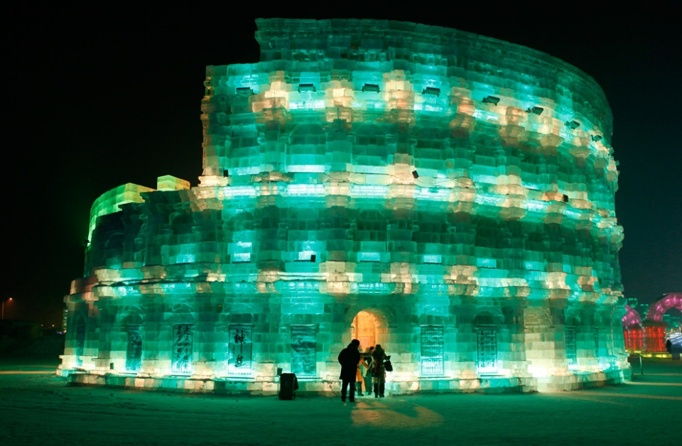 Ice Festival World Wonder