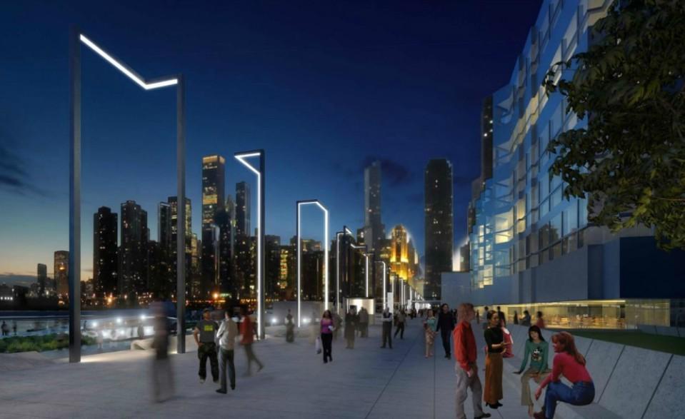 PierESCAPE Street Lamps