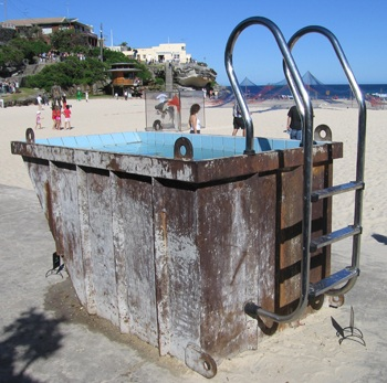 Dawson's Public Swimming Pools at the Beach