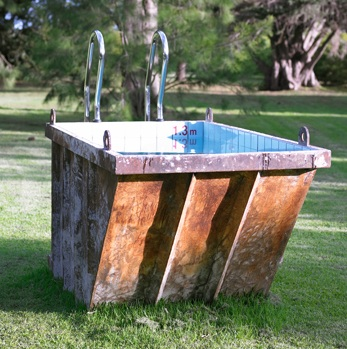 Dumpster Diving Pool at the Park