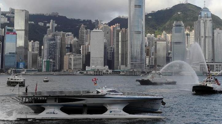 Turanor Vessel at Hong Kong