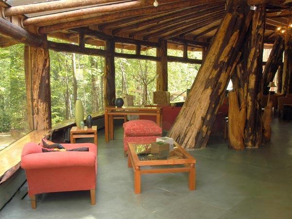Magic Mountain Lodge Interior