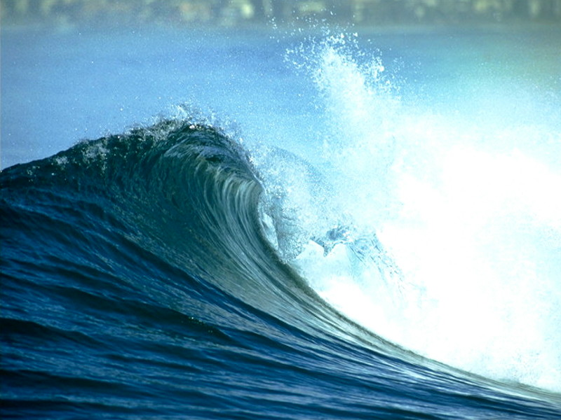 Waves and Tides can Generate Power