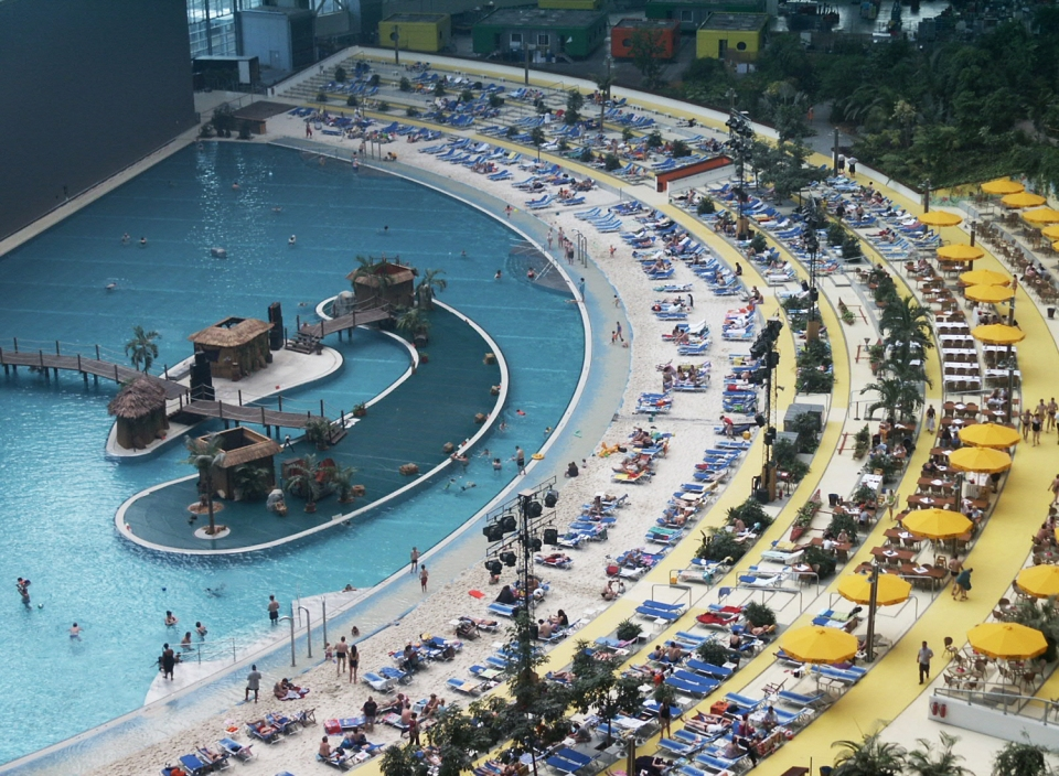 Tropical Islands Resort's Lagoon