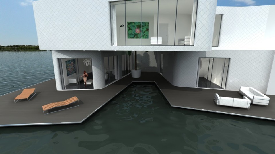 The Citadel Floating Apartment Complex
