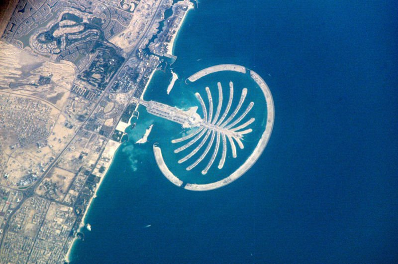 Dubai Manmade Palm Islands