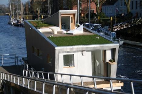 Schwimmhaus Green Eco Roof