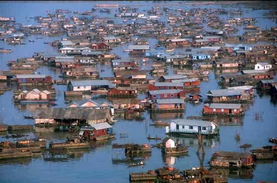 Vietnamese Floating Village