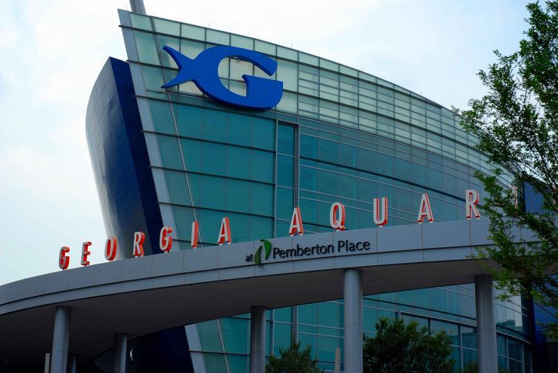 Georgia Aquarium Exterior in Atlanta