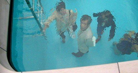 Swimming Pool Art Piece