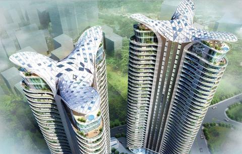 The Aquaria Grande Apartment Towers