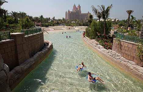 Atlantis Water Park Tubing Ride