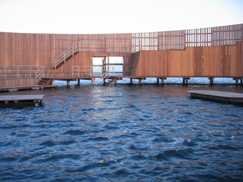 Water Level View of the Kastrup Sea Bath