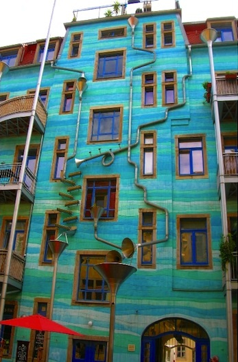 German Musical Rainwater Building