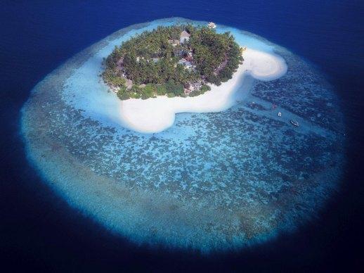 A Small Maldives Island