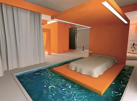 really cool water beds. Moat Bed Aquatic Furniture Really Cool Water Beds B