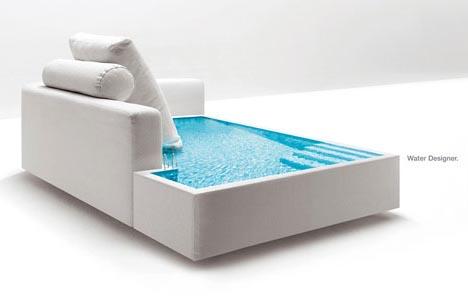 Water Sofa Aquatic Furniture