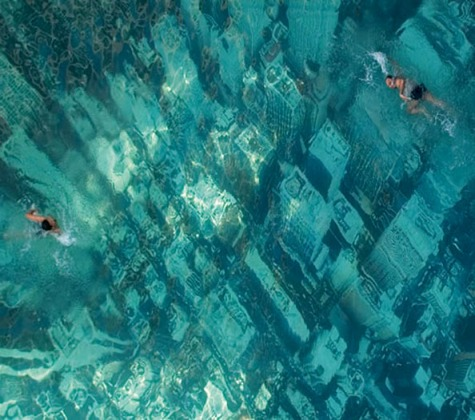 Mumbai Swimming Pool Depicts New York City