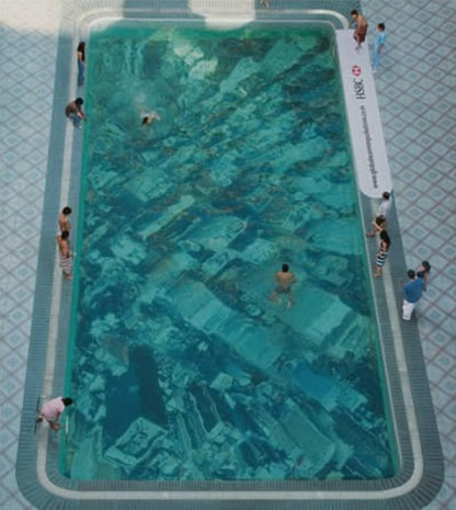 HSBC Pool Shows a Sunken New York City