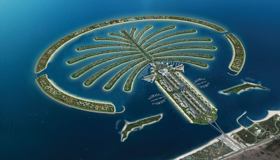 Israel Plans to Build an Artificial Island, Much Like This One, Which Is In Dubai