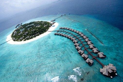 Maldives Island with Resort