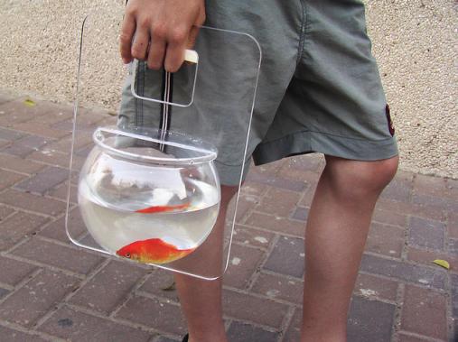 Israeli Fish Purse