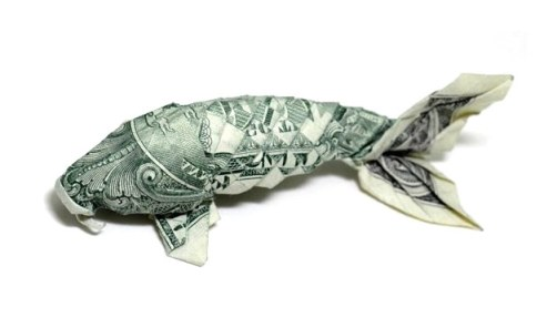 Origami Money Fish