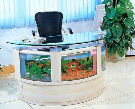 Office Desk Aquarium