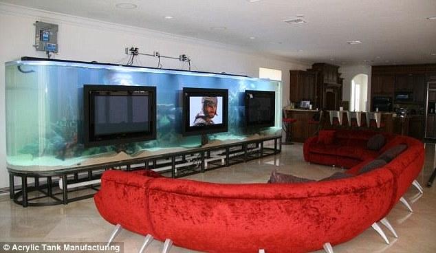 Aquarium TV Stand