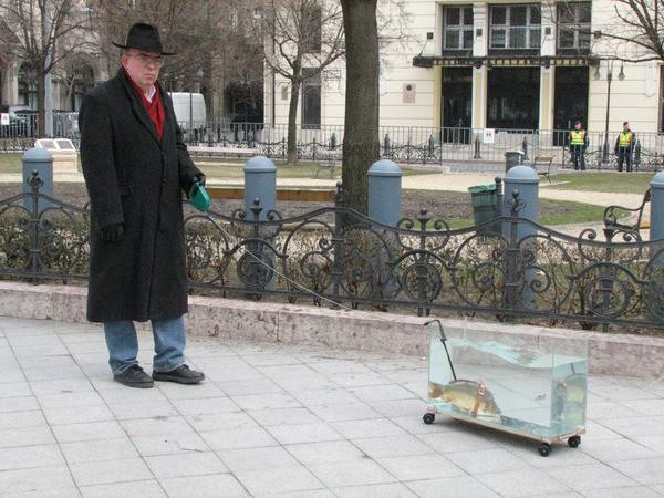 Walking a Fish
