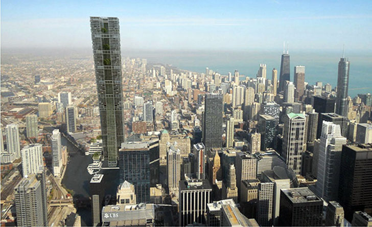 The Clean Tower in Chicago