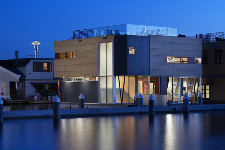 Lake Union Floating House