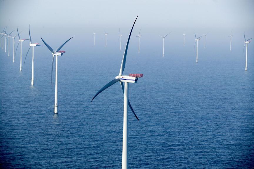 Aquatic Wind Turbine