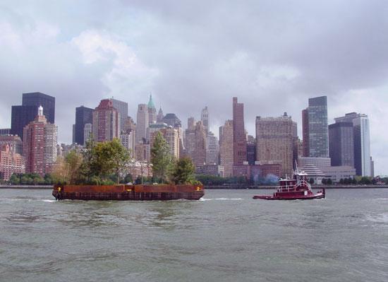 New York Floating Island