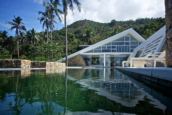 Koh Sumai House Architecture in Thailand