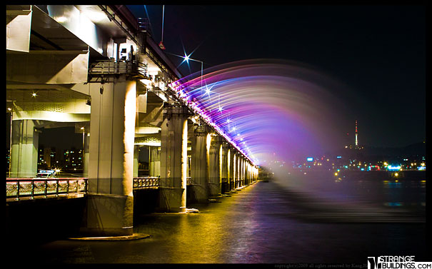 Banpo Bridge in Seoul