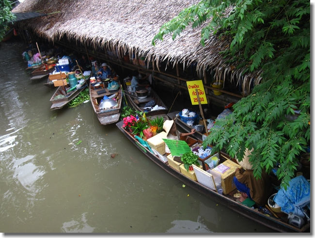Local Thai Floating Market
